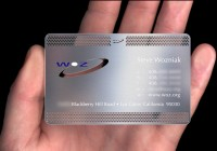Business cards with reference to branding